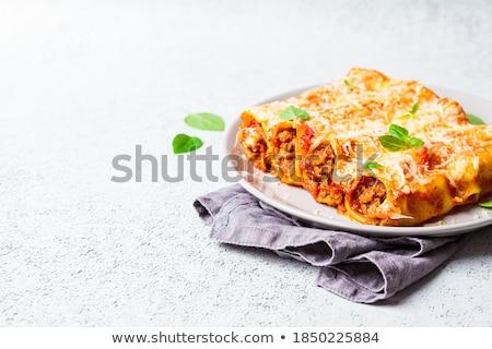 Zdjęcia stock: Cannelloni