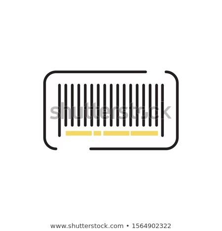 Braço código de barras tatuagem dentro pulso isolado Foto stock © pancaketom