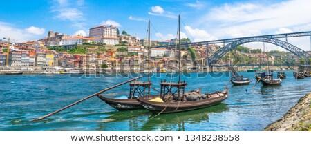 boten · wijn · rivier · stad · Portugal · traditioneel - stockfoto © neirfy