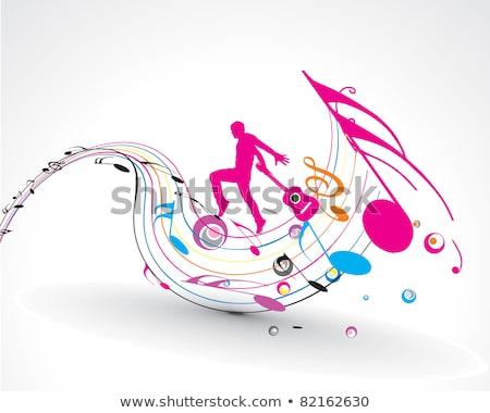 Konser enstrüman notlar klasik viyolonsel müzik Stok fotoğraf © KonArt