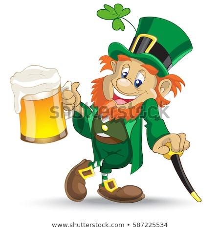 Bier creatieve ontwerp dag cartoon Stockfoto © indiwarm