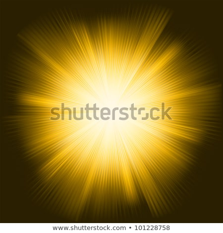 A orange color design with a burst. EPS 8 Stock photo © beholdereye
