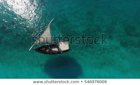 Manzara görmek okyanus Mozambik köşe görüntü Stok fotoğraf © jacojvr