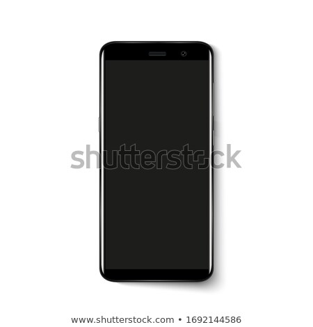 Stock photo: black smartphone