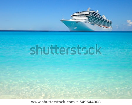 Holiday cruise liner Stock photo © Forgiss