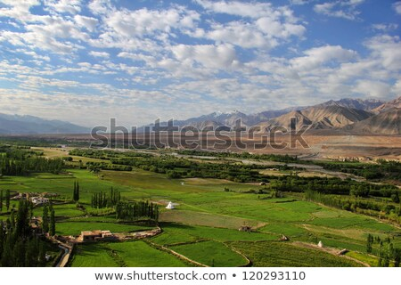 montanhas · tibete · nuvens · azul · pedra - foto stock © haraldmuc