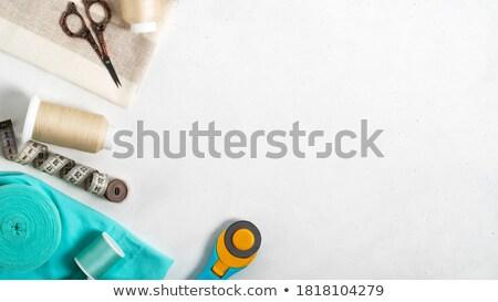 de · costura · conjunto · colorido · ilustração · ferramentas - foto stock © malexandric