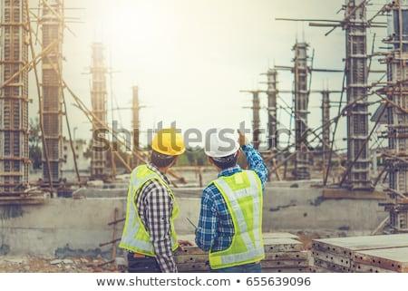 ipari · előad · könyvvizsgálat · csövek · gyár · üzlet - stock fotó © lisafx