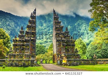 Rzeźba świątyni bali Indonezja religijnych podróży Zdjęcia stock © travelphotography