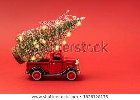 na · zewnątrz · skupić · christmas · światła · obraz · kolorowy - zdjęcia stock © gregory21