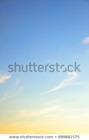 Ambiente hermosa amanecer luz manana sol Foto stock © nuttakit
