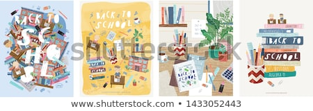 stationery with elements Stock photo © Natashasha