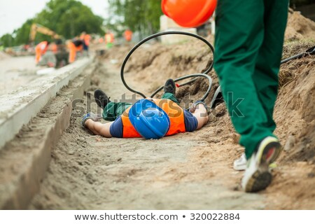 Victim of a construction accident Stock photo © photography33