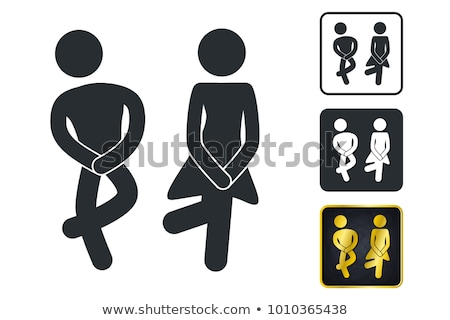 restroom sign Stock photo © unkreatives