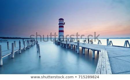 Jetties and Lighthouse Stock photo © ozgur