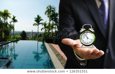 Time to share concept Stock photo © Ansonstock