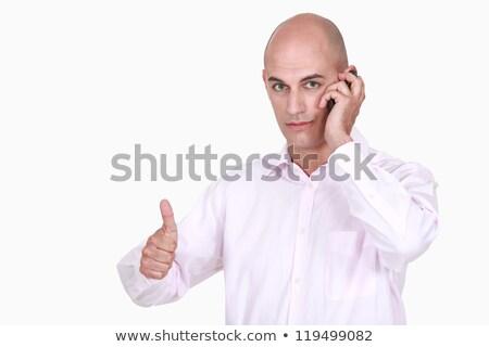 zakenman · belangrijk · oproep · kantoor · man · vergadering - stockfoto © photography33