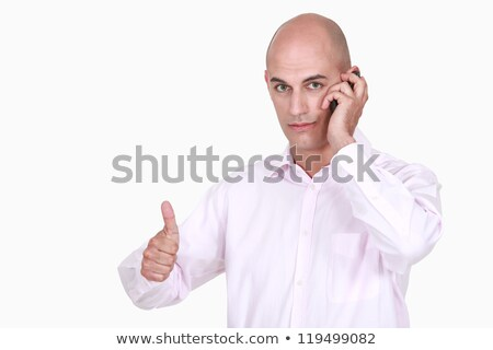 bald businessman closing an important deal stock photo © photography33