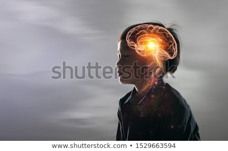 Human Brain Intelligence Stock photo © Lightsource