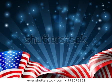 Americano estrelas grunge textura festa abstrato Foto stock © yupiramos