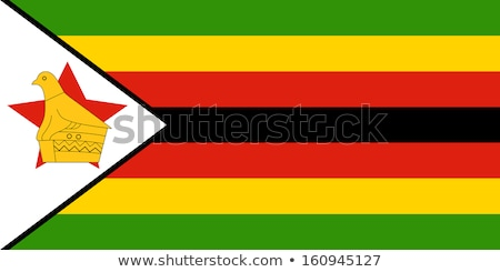 Flag of zimbabwe Stock photo © MikhailMishchenko