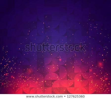 résumé · feu · lignes · fond · wallpaper · tunnel - photo stock © butenkow