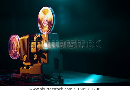 Cinematografie vector film industrie Rood Stockfoto © nasonovicons