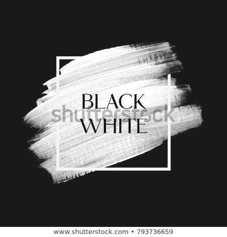 Stockfoto: Verf · witte · papier · oud · hout · achtergrond · kunst