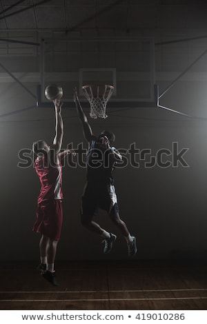 Basketball One On One Stock photo © ArenaCreative