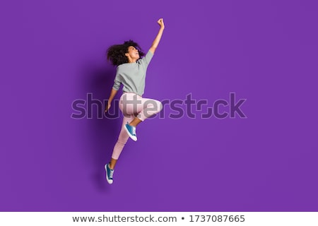 girl try to fly stock photo © chesterf
