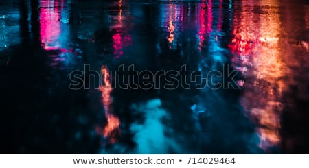 Street Lights Out Of Focus. Stock photo © ryhor