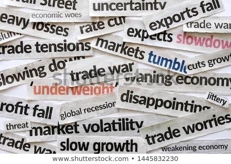 european economy collage Stock photo © nito