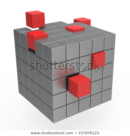 Incomplete Puzzle Shows Education Or Completion Stock photo © stuartmiles