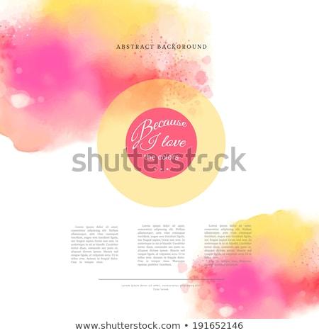 аннотация Места место текста вектора иллюстрация Сток-фото © orson