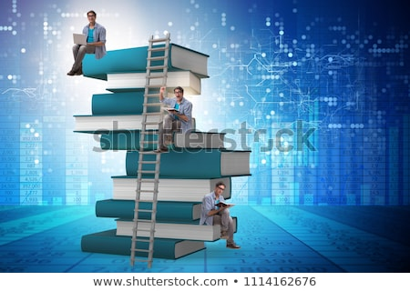 Learn to be wise. Book concept. Stock photo © maxmitzu