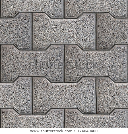 Grainy Paving Slabs. Seamless Tileable Texture. Stock photo © tashatuvango