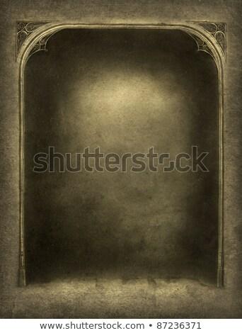 dettaglio · vecchio · storico · frame · casa · texture - foto d'archivio © meinzahn