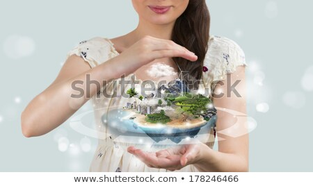 insurance concept save your perfect world stock photo © hasloo