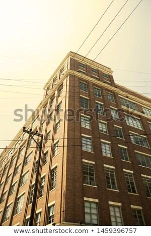 facade of historic skyscraper downtown Los Angeles Stock photo © meinzahn