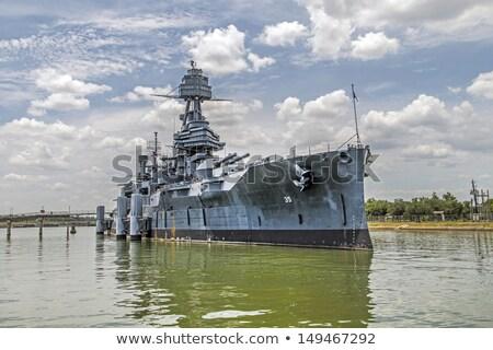 famoso · acorazado · Texas · metal · barco · buque - foto stock © meinzahn
