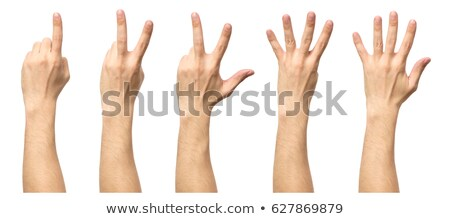 male hand showing one finger stock photo © mizar_21984