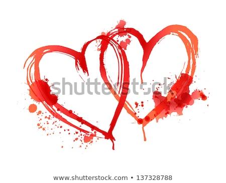 bloody heart Stock photo © OleksandrO