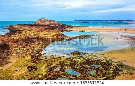 Stock fotó: Körül · tengerparti · díszlet · kikötő · város · víz