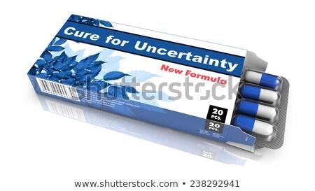 curar · inflação · bolha · empacotar · azul · abrir - foto stock © tashatuvango