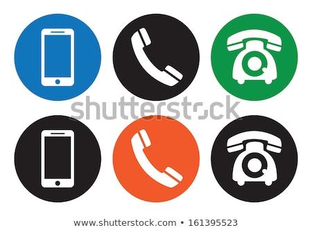 Set diverso telefono icone ufficio Foto d'archivio © aliaksandra