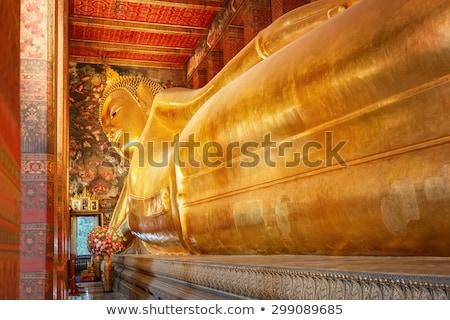 Tempel buddha Bangkok Thailand gouden standbeeld Stockfoto © kasto