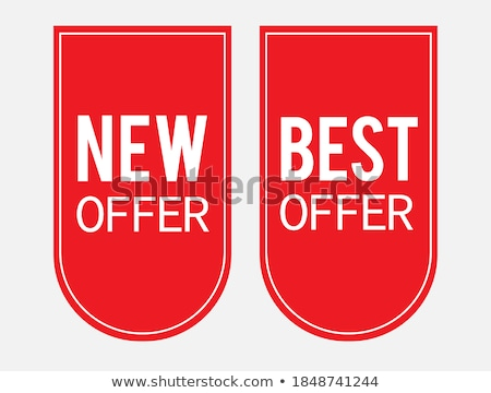 Get The Best Red Vector Icon Button Stock photo © rizwanali3d