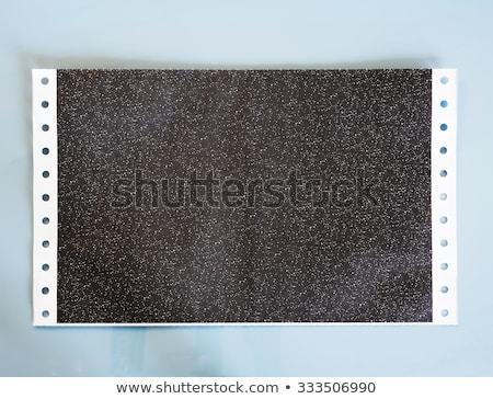 Kohlenstoff Papier weiß abstrakten Schmutz antiken Stock foto © bdspn