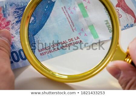 コイン アルゼンチン 表 お金 旅行 ストックフォト © CaptureLight