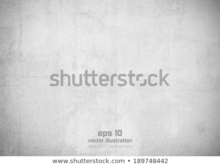 Vector Grungy White Concrete Wall Background Stock photo © H2O